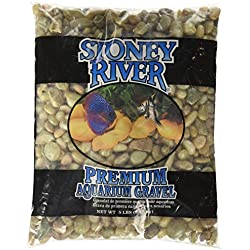 Stoney River Jumbo Gems Jade for Freshwater Aquariums, 5-Pound Bag