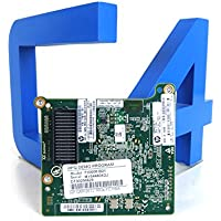 HP 656452-001 8Gb QMH2572 Fiber Channel (FC) Host Bus Adapter (HBA) mezzanine - Supports virtualized servers, two-8Gb/s Fibre Channel ports, 8/4/2 automatic speed negotiation