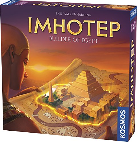 Thames & Kosmos Imhotep Builder of Egypt Board Game by Thames & Kosmos