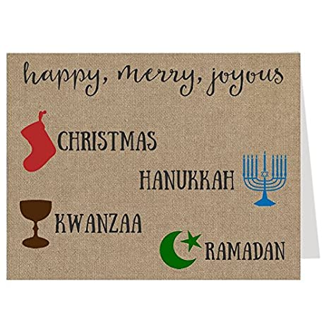 Amazon burlap christmas card funny hilarious hipster image unavailable m4hsunfo