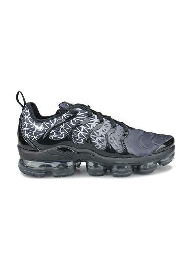 Amazon Com Nike Air Vapormax Plus Black White Shoes