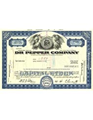 Dr. Pepper Company - Stock Certificate