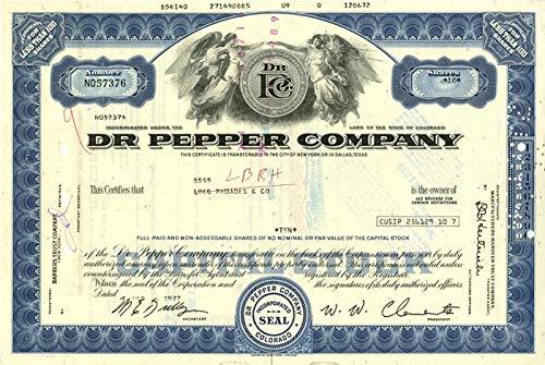 Dr. Pepper Co.