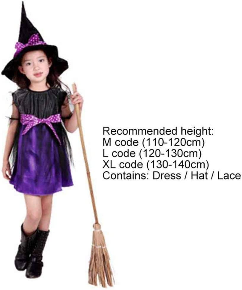 Aeromdale Traje de Bruja Cosplay Fiesta de Halloween Disfraz de ...