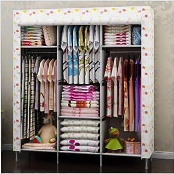 Amazon.com: Generic New Portable Folding Clothes Bedroom Furniture ...