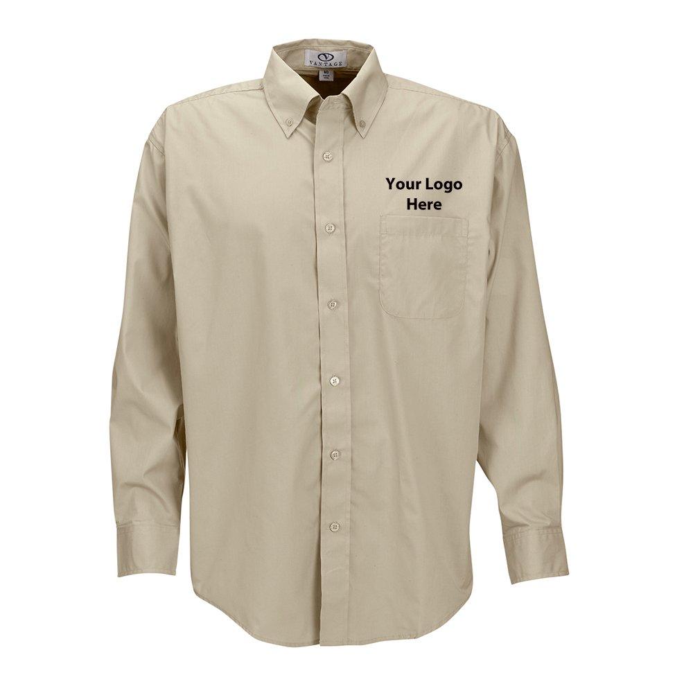Men Blended Poplin Shirt - 12 Quantity - $34.45 Each - BRANDED/CUSTOMIZED
