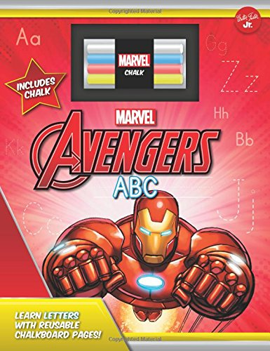 Marvel's Avengers Chalkboard ABC: Learn letters with reusable chalkboard pages! (Licensed Chalkboard Concepts)