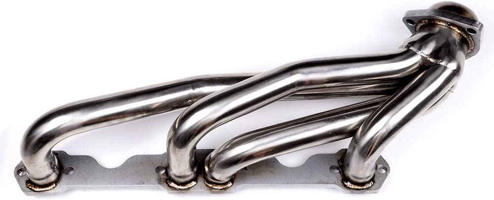 HDSG-MC85T2 Stainless Exhaust Manifold Header System Replacement Exhaust Pipe Fit 1988-1995 C-hevrolet 1988-1997 G-MC