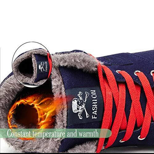 De Botas Cálido Impermeables Clásico Deportes Calzado Azul Nuevo Nieve Dogeek Mujer Senderismo Invierno Iinvierno Rgxx6Z