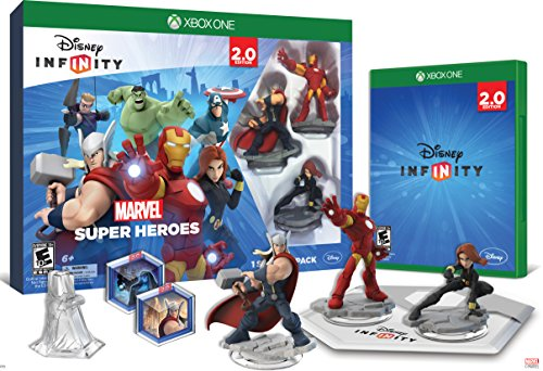 Disney INFINITY: Marvel Super Heroes (2.0 Edition) Video Game Starter Pack - Xbox One (Games Computer Action)
