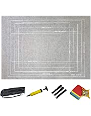 Portable Puzzle Blanket/Puzzle Mat Can be Rolled Up, Large Puzzle Mat for Adults and Children, Can Hold 2000 Pieces