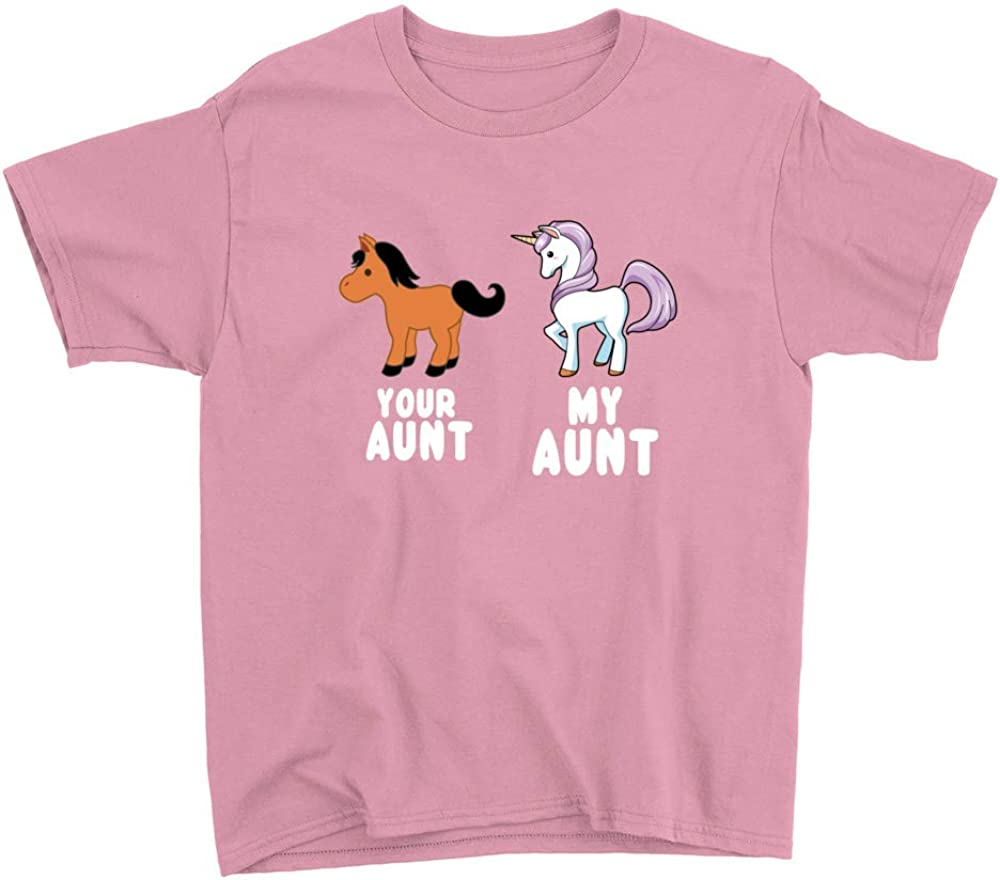 Your Aunt My Aunt Unicorn Youth T-Shirt
