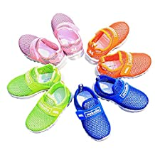 SexRt SexRt Boys and Girls Water Shoes Breathable Mesh Slip-on Sneakers for Running Walking Pool Beach (Toddler / Little Kid / Big Kid)