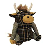 Riva Home Highland Cow Doorstop (One Size) (Brown)