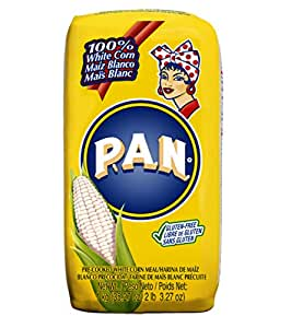 Amazon.com : P.A.N. White Corn Meal - Pre-cooked Gluten