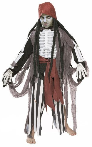 Kids Scary Ghostship Pirate Costume - Child Medium by Halloween Resource Center]()