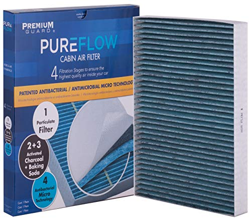 PureFlow Cabin Air Filter PC6176X | Fits 2011-18 Chrysler 300, 2010-18 Dodge Challenger, 2011-18 Charger