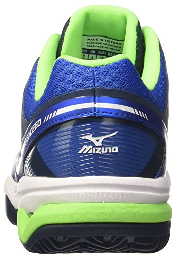 Mizuno Wave Exceed Cc - Zapatillas de tenis Hombre Multicolore (StrongBlue/White/DressBlues)