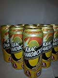 Kvass Ochakovskiy 0.5L (10 cans). Includes Our Exclusive HolanDeli Chocolate Mints.