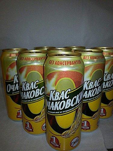 (Kvass Ochakovskiy 0.5L (10 cans). Includes Our Exclusive HolanDeli Mints. )