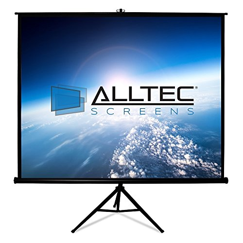 - Alltec Screens ATS-TP135B Tripod Portable Projector Screen 135