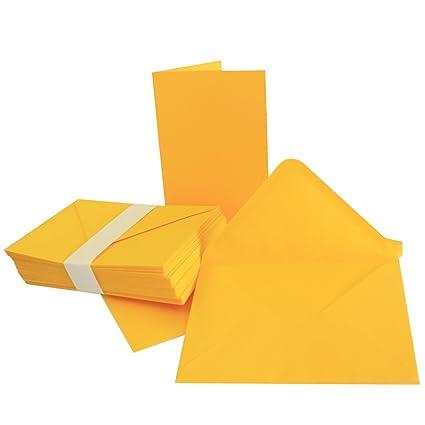 Marke: NEUSER FarbenFroh Umschl/äge Premium QUALIT/ÄT 14,8 x 21 cm f/ür Drucker geeignet Faltkarten DIN A5 sehr formstabil 10 Sets Hochwei/ß//Kristallwei/ß