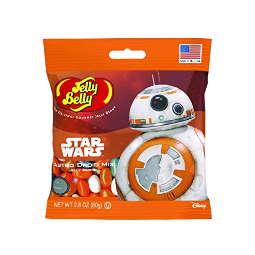 Jelly Belly Star Wars BB-8 Jelly Beans, Astro Droid Mix, 2.8-oz, 12 Pack