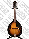 Oscar Schmidt OM10E A-Style Spruce Top Acoustic-Electric Mandolin - Tobacco Sunburst