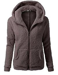 Women's Winter Front Zip Fleece Hoodie 8 Colors