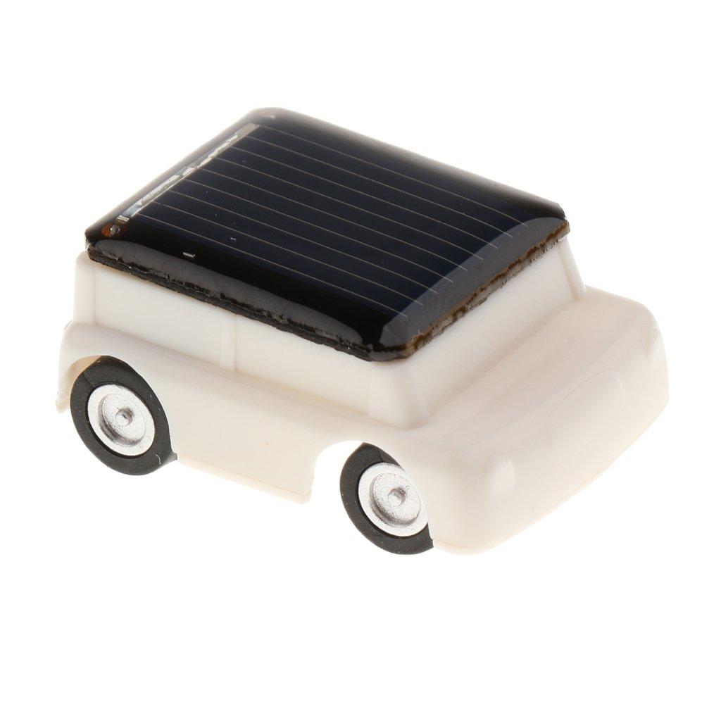 Juguetes Juegos Educativos Solar Adminículo Niños Mini Coche Jeep Blanco