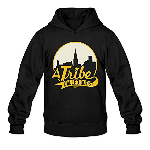 Custom Dance Costumes Houston (AK79 Men's Hoodies A Tribe Poster Called Quest Size S Black)