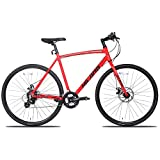 Hiland Road Hybrid Bike for Men and Women,Adult Teenager Youth Boys Girls Urban Commuter City...
