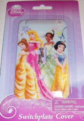 Disney Princess Switch Plate Cover Baby Nursery Kids