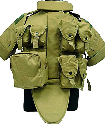 Chariot Trading - OTV Tactical Vest Body Armor With Pouch