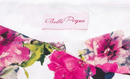 1950 la Belle Floral años 10 retro hasta BP0117 mujer Retro Vestido Poque rodilla Dress para estilo 10 Grace Karin wSg46fqwx
