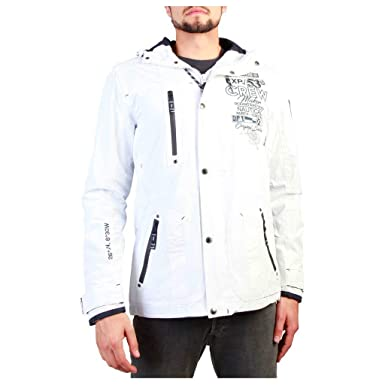Geographical Norway Clement_man Chaquetas Hombre Blanco XXL ...