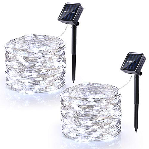 Outdoor Solar Fairy Lights White in US - 1