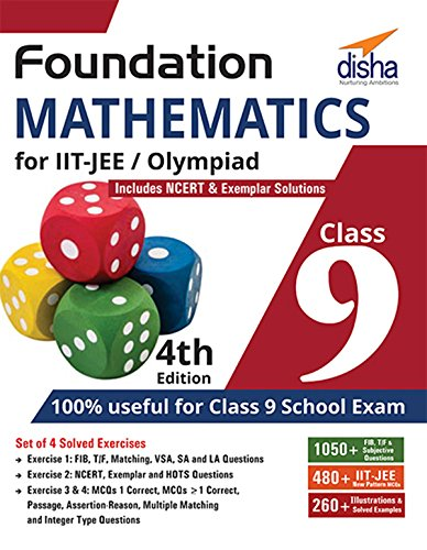 Foundation Mathematics for IIT-JEE/ Olympiad Class 9 - 4th Edition