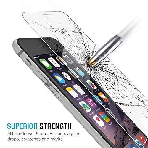 116 opinioni per Sumpple- Pellicola protettiva in vetro temperato Per iPhone 6/6S/7, Protezione