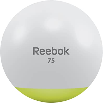 Reebok Gym Ball - Pelota de Fitness, tamaño 75 cm, Color Verde ...