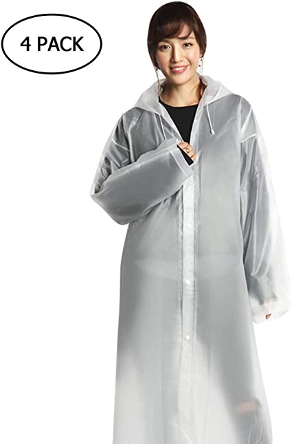 Non-Disposable Men And Women Poncho Adult Raincoat Rain Coat Rainy Day Use