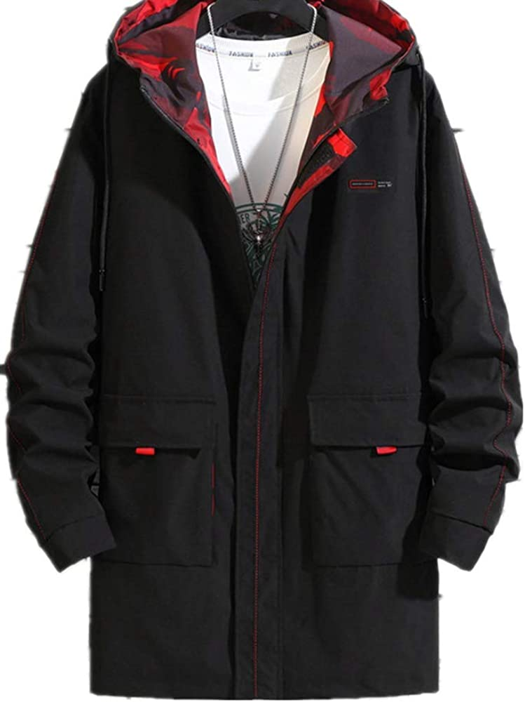 Printemps et automne hiver hommes veste de graisse, plus la taille des hommes manteau coupe-vent veste extra gras Huit mille huit cent et sept