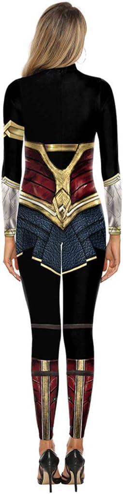 Liga de la Justicia: Traje de Mujer de Maravilla Cosplay Siameses ...