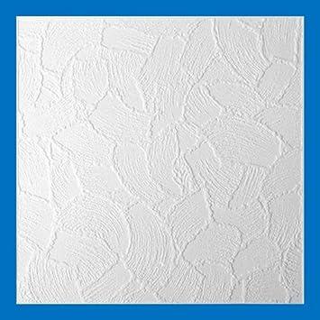 Styropor Deckenplatten Stuckdecken Polysterolplatten Kellenputz 50 X 50 Cm Set 8 Stuck 2m2 In Fo Amazon De Baumarkt