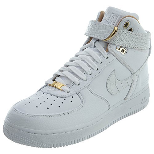 Nike Air Force 1 Hi Just Don Mens Trainers Ao1074 Sneakers Shoes White, White-white