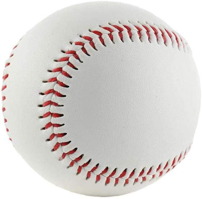 VlugTXcJ Softball-Baseball-Sport-Training Ball Nummer 9 Soft-pu Baseballs Trainingsb/älle /Übung Weiche Pu Softball Sportmannschaft Spiel Baseball