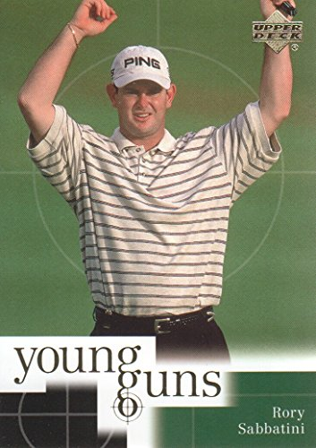 (2001 Upper Deck Golf #80 Rory Sabbatini RC Young Guns )