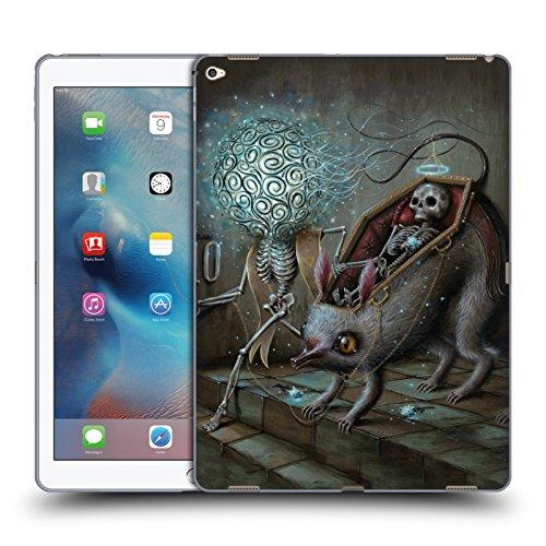 Official Jason Limon No Mans Land Skull Soft Gel Case for Apple iPad Pro 12.9
