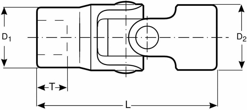 Bahco A6710DM-11 VASO BI HEXAGONAL 1//4 11