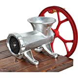Guide Gear #32 Cast Iron Meat Grinder With Pulley